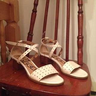 Kelsi Dagger Low Heel Sandals