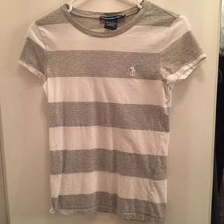 *reserved*Ralph Lauren Sports Tshirt In Strips