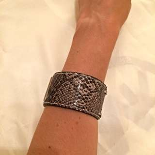Danier Leather & Metal Bracelet