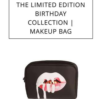 KYLIE [makeup bag] BIRTHDAY LIMITED EDITION