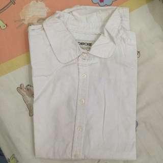 Cherokee White Plain Shirt