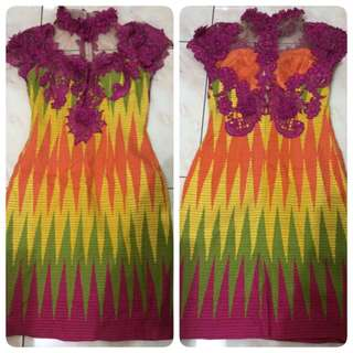 Rang Rang Dress With Brokat
