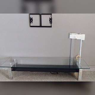 Tv Console Glass Table By Ikea