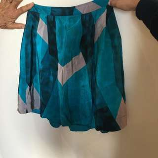 Kookai Silk Skirt