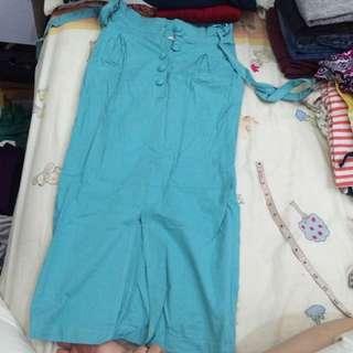 16 DS Turquoise 3/4 Chino Skirt