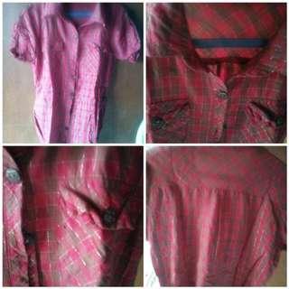 Polo Short Sleeve(Checkered)