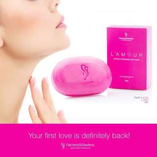 L 'amour Instant Whitening Love Soap Fairness & Flawless