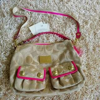 Authentic Coach Poppy 2way Bag