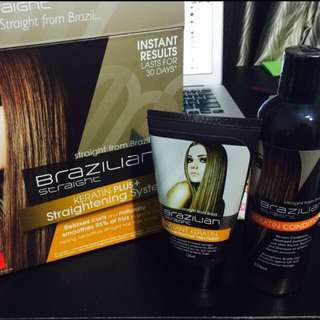 Brazilian Keratin Straightening Treatment