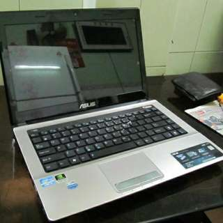 K43SJ Asus Laptop Gaming K43S
