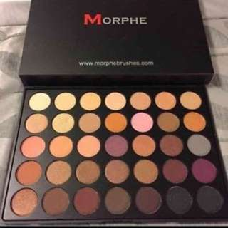 Morphe Brushes- 35w35 Palette