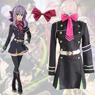 Costume Shinoa Hiiragi Owari No Seraph
