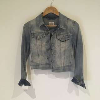 Tiny Cut Levis Denim Jacket