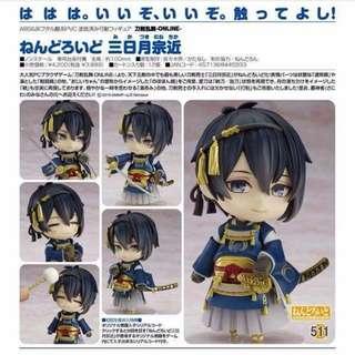 Nendoroid 511 Mikazuki Munechika form Touken-Ranbu Online GoodSmile KW