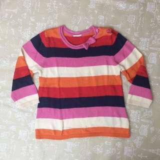 H& M Stripes Sweater