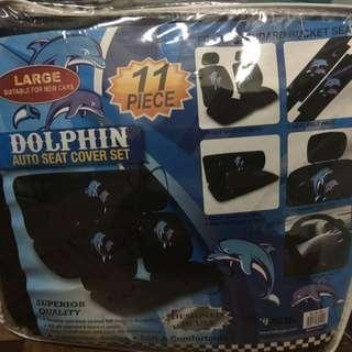 11-pc. Dolphine Auto Seat Cover
