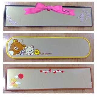 Sanrio & Disney Rear View Mirror (Minnie Mouse, Rilakkuma, Pooh)