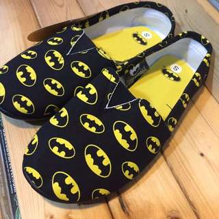 日本進口 DC BATMAN 蝙蝠俠 平底鞋 懶人鞋 便鞋 休閒鞋