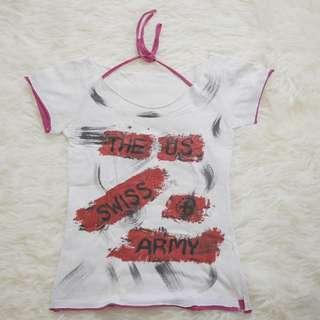Halter T-shirt