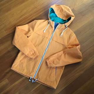 Topman Orange Jacket Size S