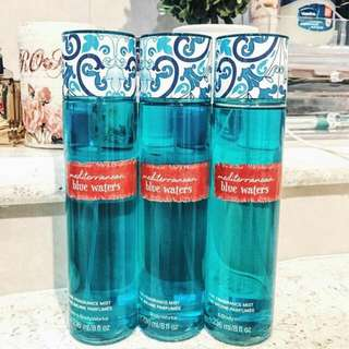 BATH AND BODY WORKS BLUE WATER BODY MIST