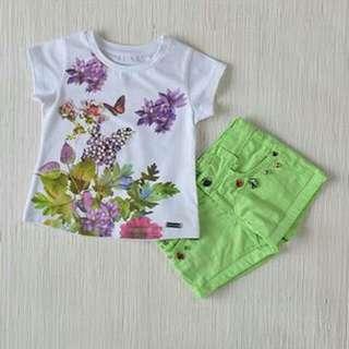 Kidswear - 2pcs Girls' Set (2Y, 3Y, 4Y, 5Y)