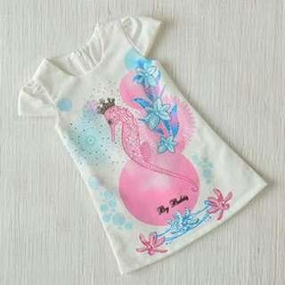 Kidswear - Princess Peacock Dress (2Y, 3Y, 4Y, 5Y) UP $69