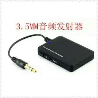 🚚 藍芽音頻發射器iPod PSP接收器3.5mm無線電腦電視藍牙耳機 適配器