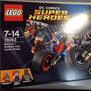 LEGO 76053 摩托車追逐 小丑女