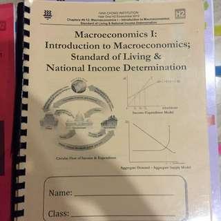 Hwachong Macroeconomics Notes