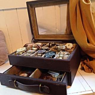 Fossil Watch Box