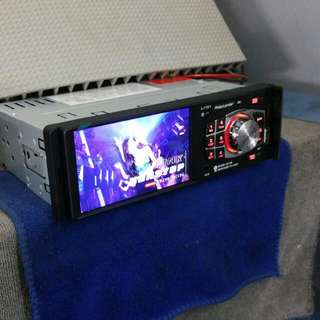 """(Currently Out Of Stock) 4.1"""" TFT Screen Car Stereo MP3 MP4 Player USB SD Card & AUX in (Single Din Type)(BNIB)"""