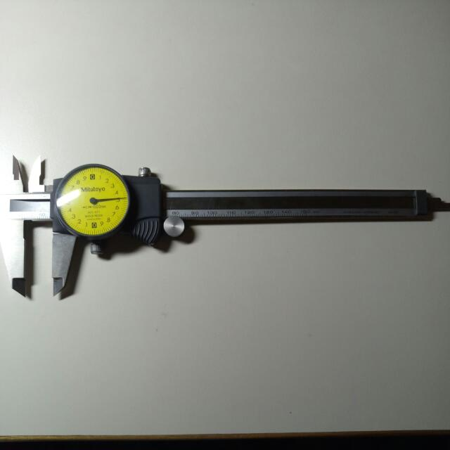 測量機械游標卡尺