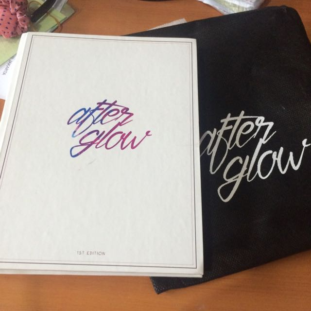 [ Preloved ] After Glow, EXO : The Lost Planet in Jakarta Photobook