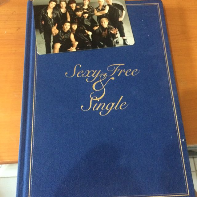 [ Preloved ] SUPER JUNIOR's Sexy, Free & Single Album