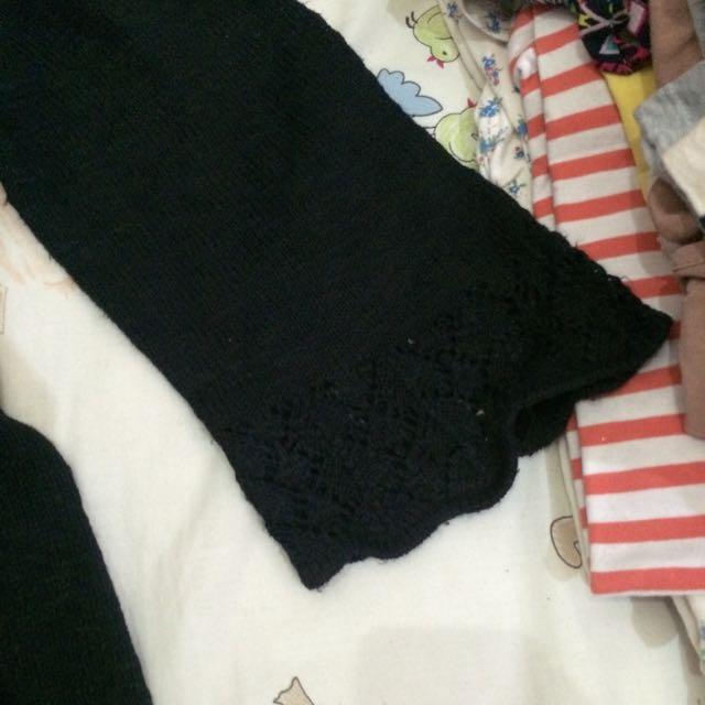 Black Brokade Cardigan