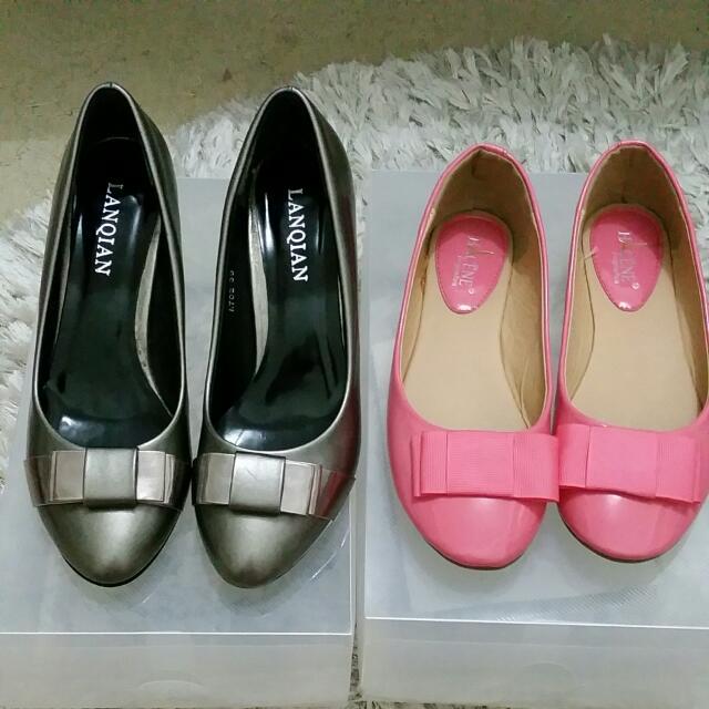 Bow Heel/Flat