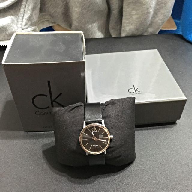Calvin Klein 皮帶 女錶