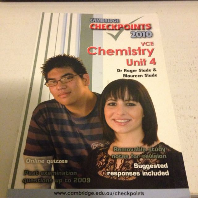 Chemistry Checkpoints