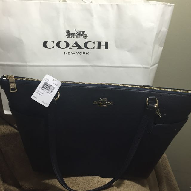Authentic Coach Bag With Tags