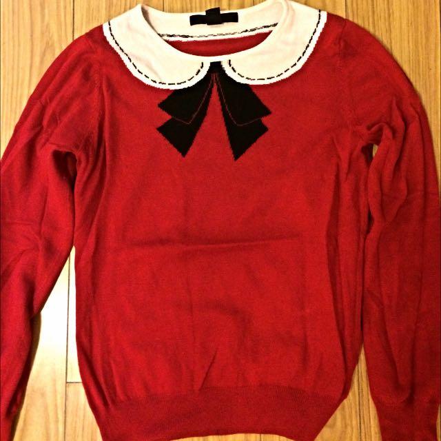 Collar Sweater