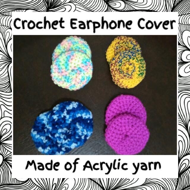 Crochet Headphone Cover