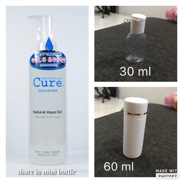 Cure Natural Aqua Gel Asli Japan (share in bottle)