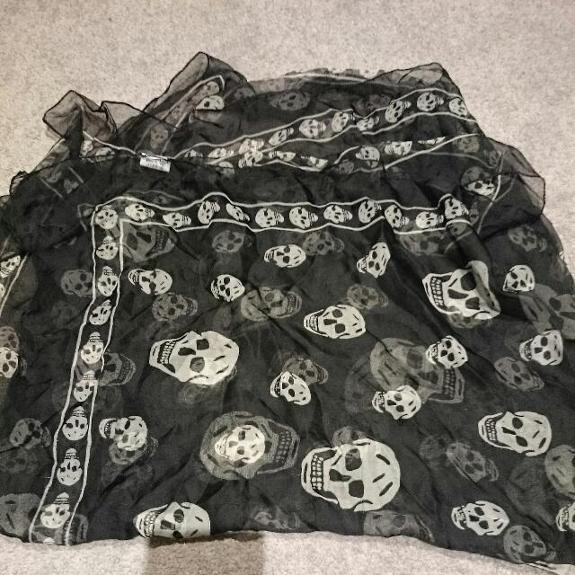 Dangerfield Skull Scarf