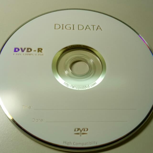 空白DVD光碟片