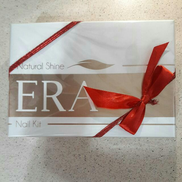 Brand New ERA Natural Shine Nail Kit, Health & Beauty on Carousell