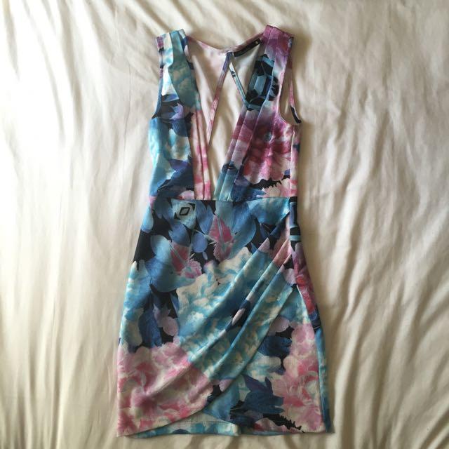 Floral Dress Sz 8