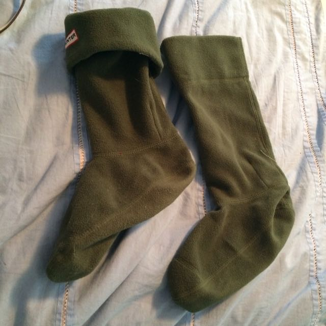 Forest Green Hunter Socks!