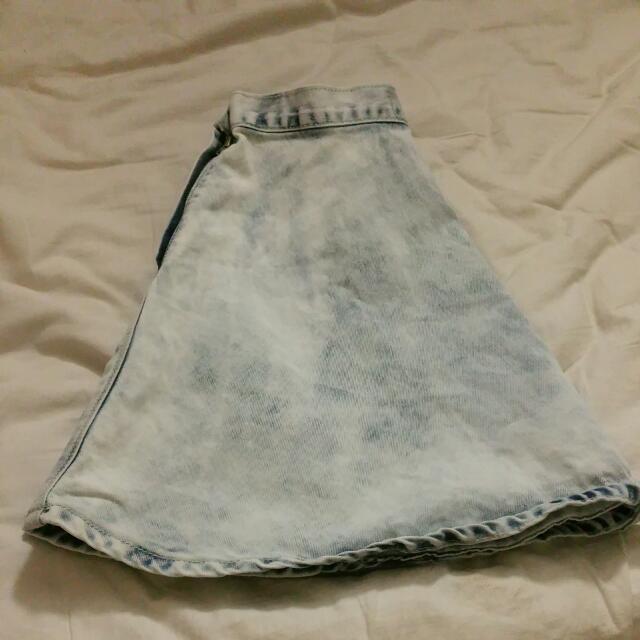 (Garage) Demin Skirt