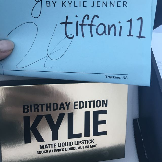 In Stock - Kylie Jenner Birthday Edition Mini Matte Lips